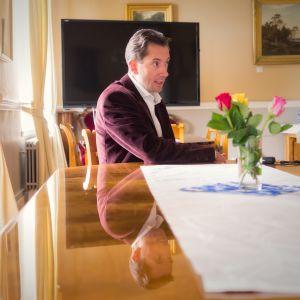 Loviisan kunnanjohtaja Jan D. Oker-Blom