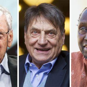 Amos Oz, Claudio Magris ja Ngũgĩ wa Thiong'o.