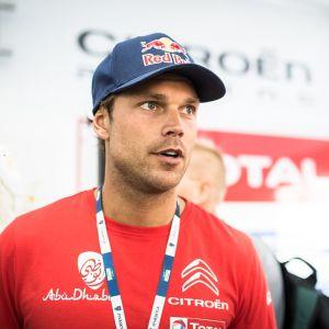 Andreas Mikkelsen kuvassa