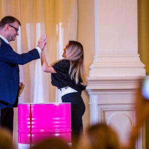 Katariina Räikkönen ja Juha Sipilä