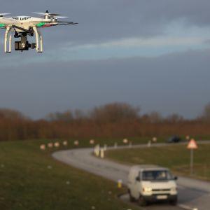 Kuvauskopteri Saksassa vuonna 2014.