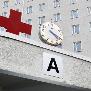 sairaalan sisäänkäynti