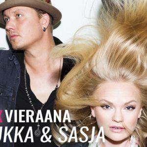 Annukka ja Sasja vierailivat YleX Illassa.