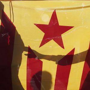 Katalonian lippu.