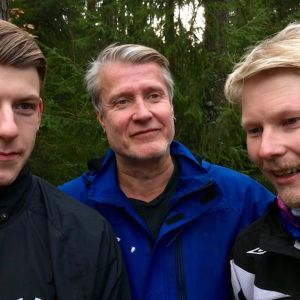 Oskari Lappalainen, Jaakko Törrönen ja Janne Ristkari