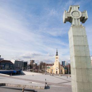 Vapaudenaukio Tallinnassa.