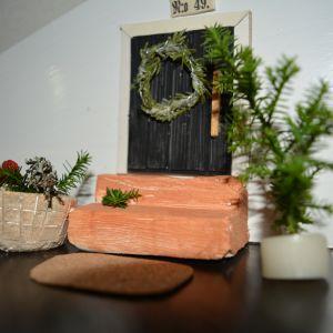 Mari Latvalan tonttuovi rakentui muutamassa minuutissa paikalleen portaikkoon.