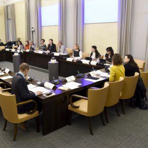 Eduskunnan sosiaali- ja terveysvaliokunta järjesti julkisen kuulemisen Eutanasia-kansalaisaloitteesta Helsingissä 9. marraskuuta 2017.