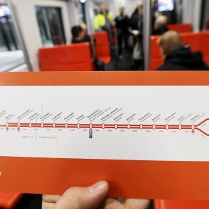Uusi metrokartta.