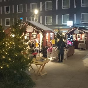Oulun joulutori peruuntuu jälleen.