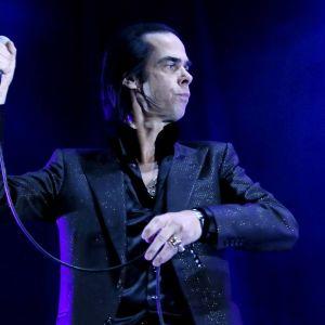 Nick Cave Primavera Sound -festivaaleilla Barcelonassa 2013.