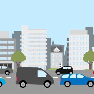 Liikenneruuhka -piirros