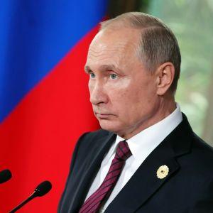 Venäjän presidentti Vladimir Putin osallistui APEC-kokoukseen Da Nangissa Vietnamissa 11.11.2017.