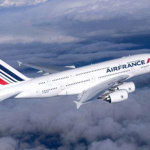 Air Francen kone ilmassa.