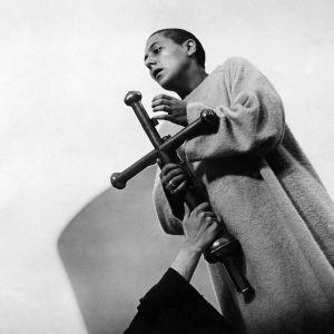 Maria Falconetti, Carl Dreyerin ohjaamassa elokuvassa Jean d'Arc, vuodelta 1928.