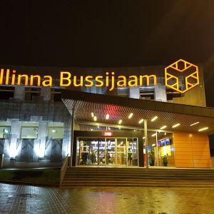 tallinna linja-autoasema bussiasema viro eesti estonia bus