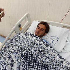 Siinain terrori-iskusta selvinnyt mies sairaalahoidossa.