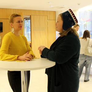 Kaari Mattila ja Tiina Sanila-Aikio