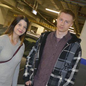 Jonna Mäyrä ja Eero Valkama.