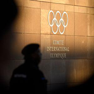 Kansainvälinen olympiakomitea Lausannessa Sveitsissä.