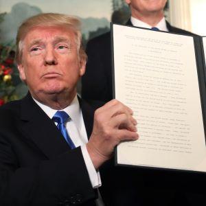 Trump ja Jerusalem-päätös