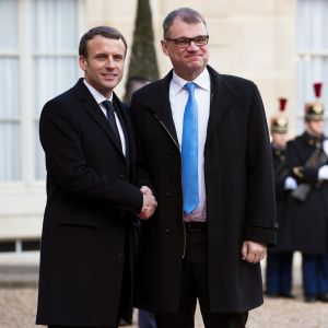 Macron ja Sipilä