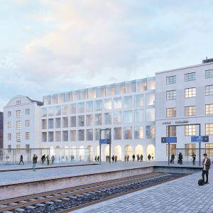 Futudesign Oy:n Hermes-niminen ehdotus voitti kiinteistösijoitusyhtiö Exilionin, Helsingin kaupungin ja Museoviraston järjestämän arkkitehtuurikilpailun.