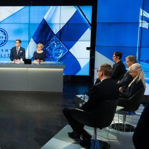 Yle Vaalikeskustelu 14. joulukuuta 2017.
