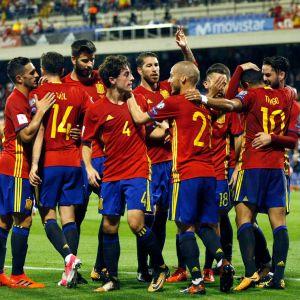 Espanja, jalkapallomaajoukkue