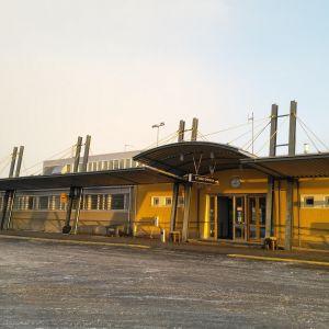 Kokkola-Pietarsaaren lentokenttä Kruunupyyssä.