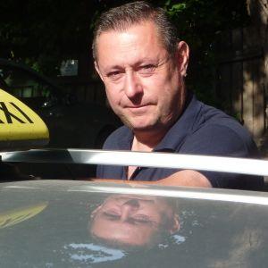 Taxiföretagare Mats Welander