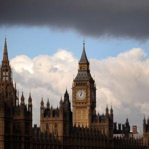 Parlamentsbyggnaden i London.