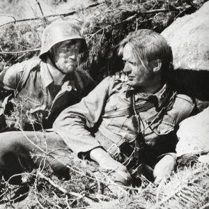 Åke Lindman (Lehto) och Kosti Klemelä (Koskela)