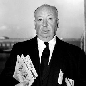 Filmregissören Alfred Hitchcock.