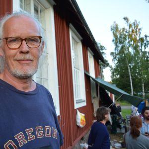 Skärgårdsteaterns regissör Dick Idman.