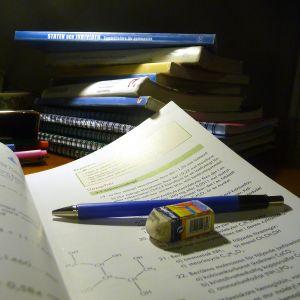 Skolböcker.
