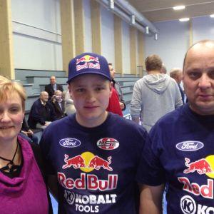 Martina, Joni och Kimmo Wiman