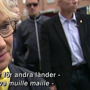 Pia Kjaersgaard från Dansk Folkeparti.
