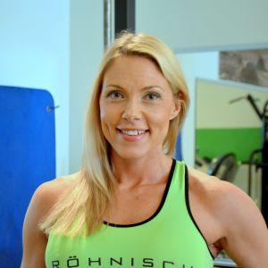 Borgåbon Linda Sonntag tränar till fitness-VM.