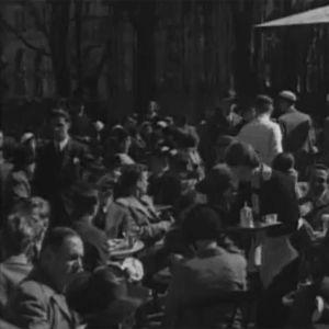 Människor på café