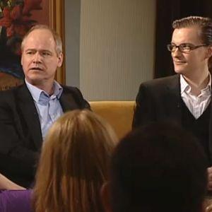 André Wickström och Robert Gustafsson