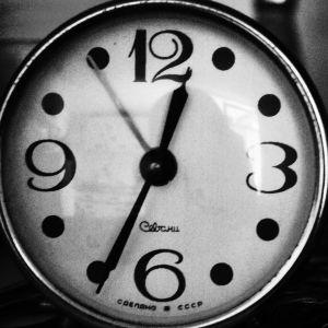 Gammal klocka.