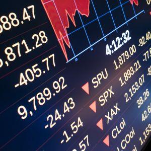 New York-börsen den 24 augusti 2015.