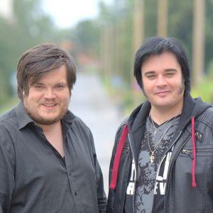 Thomas Ehnroth och Henrik Åberg.