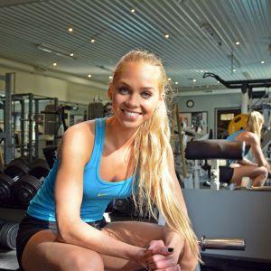 Amanda Essén, bikini fitness, september 2015.
