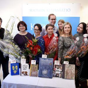 Kandidaterna för Fack-finlandiapriset 2015.