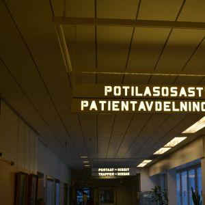 skylt(patientavdelningarna)