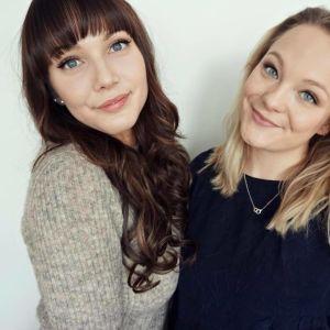 Sarah Thors och Emilia Eskola driver podden Monday Glory.