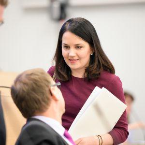 Undervisningsminister Sanni Grahn-Laasonen