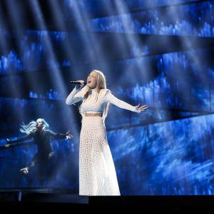 Agnete representerar Norge i Eurovisionen.